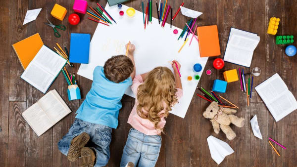 Ideas to keep your children busy