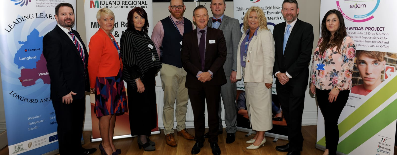 Launch of new Under-18s drug and alcohol programme in Midlands area