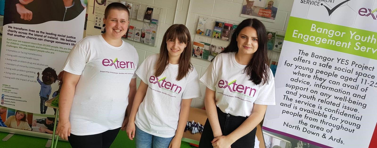 Extern's Youth Engagement Service marks new chapter in helping young people across North Down and Ards