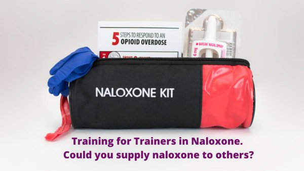 Opioid Overdose Response: Naloxone Training for Trainers (two sessions)