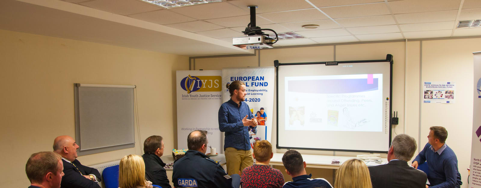 Extern launches new Garda Youth Diversion Project in Naas, Kildare