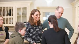 Royal Welcome for The Duke and Duchess of Cambridge on visit to Extern