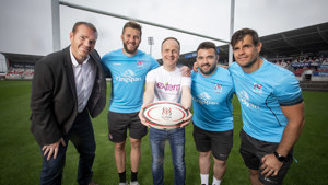 Celebrating the first year of our charity partnership with Ulster Rugby