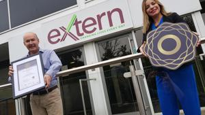 Extern becomes first charity in Northern Ireland to achieve prestigious Bronze Diversity Mark Award